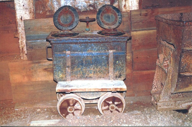 Queen Mine sanitary car